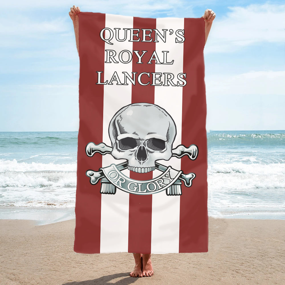 Fully Printed Queens Royal Lancers (QRL) Towel