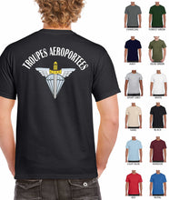 Load image into Gallery viewer, Troupes Aeroportees (French Airborne) Printed t-shirt