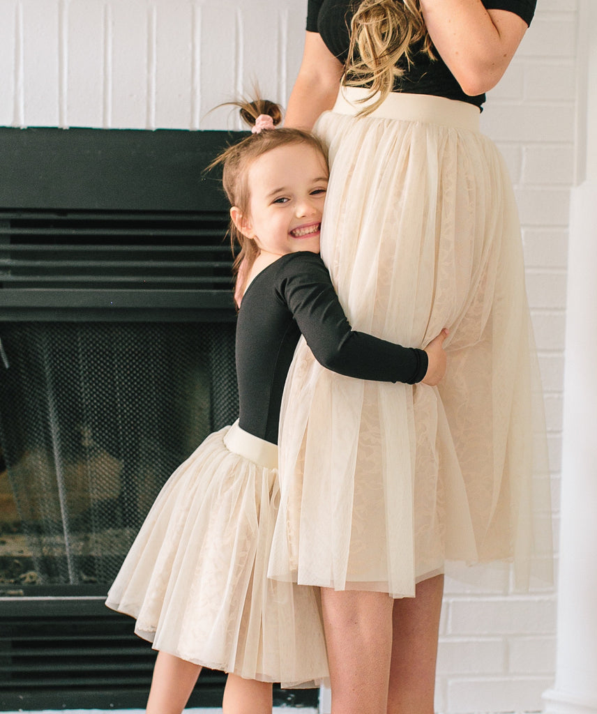 The Bonjour Bliss Mommy and Me Set, Skirts - Bliss Tulle