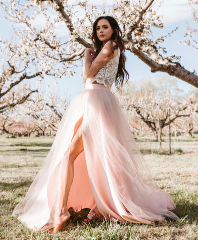 The Willow Maxi - Blush Pink