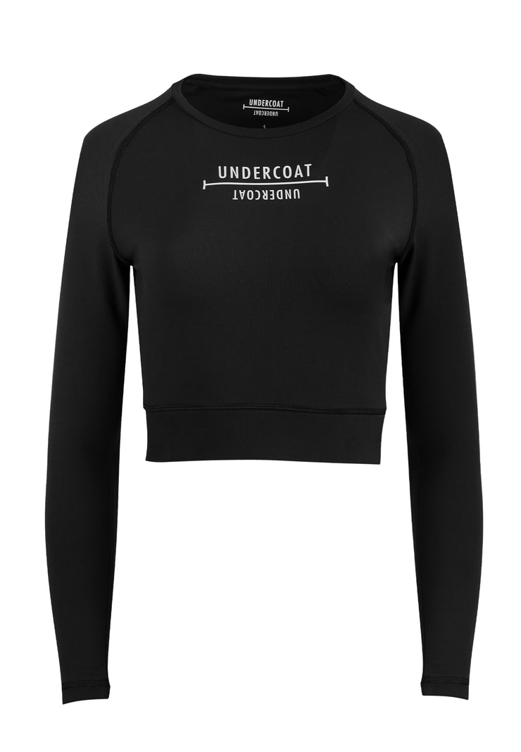 UNDERCOAT Womens Activewear Crop Top