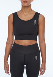UNDERCOAT Womens Active Crop Bra