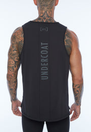 UNDERCOAT Mens Training Black Active Tank