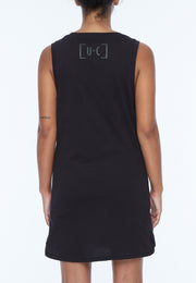 UNDERCOAT Womens UC Longline Black Vest