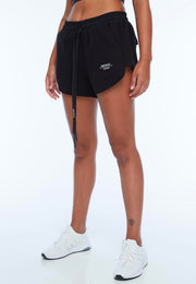 UNDERCOAT Womens UC Black Shorts