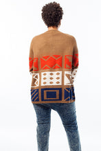 Load image into Gallery viewer, Tribal Printed Cardigan