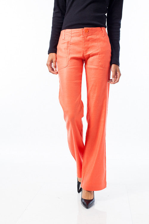Wide Leg Tunic Trousers