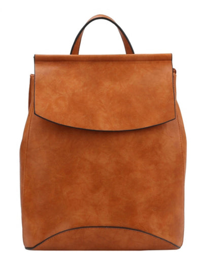 MODERN BACKPACK COGNAC