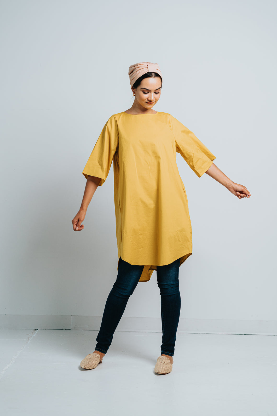 LEMON DROP TUNIC