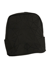 Load image into Gallery viewer, PATTERNED BACKPACK BLACK