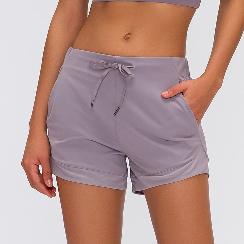 Buttery-Soft Loose Fit Yoga Shorts