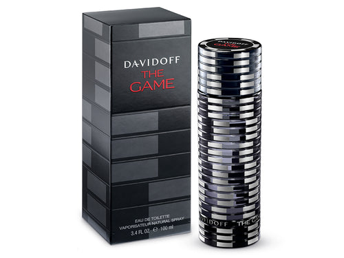 Davidoff The Game Eau de Toilette For Him 100ml Spray A woody aromatic fragrance for men.  TOP NOTES: Juniper Berries, Gin  HEART NOTES: Iris, Precious Woods  BASE NOTES: Ebony Wood