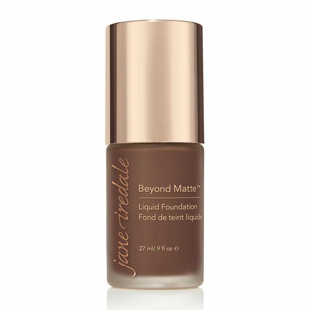 Jane Iredale Beyond Matte Liquid Foundation 27ml - M17  Introducing Beyond Matte Liquid Foundation!  With buildable coverage and a semi-matte finish, this is a skin-loving, clean, vegan liquid foundation.  A primer, concealer and foundation - all in one!