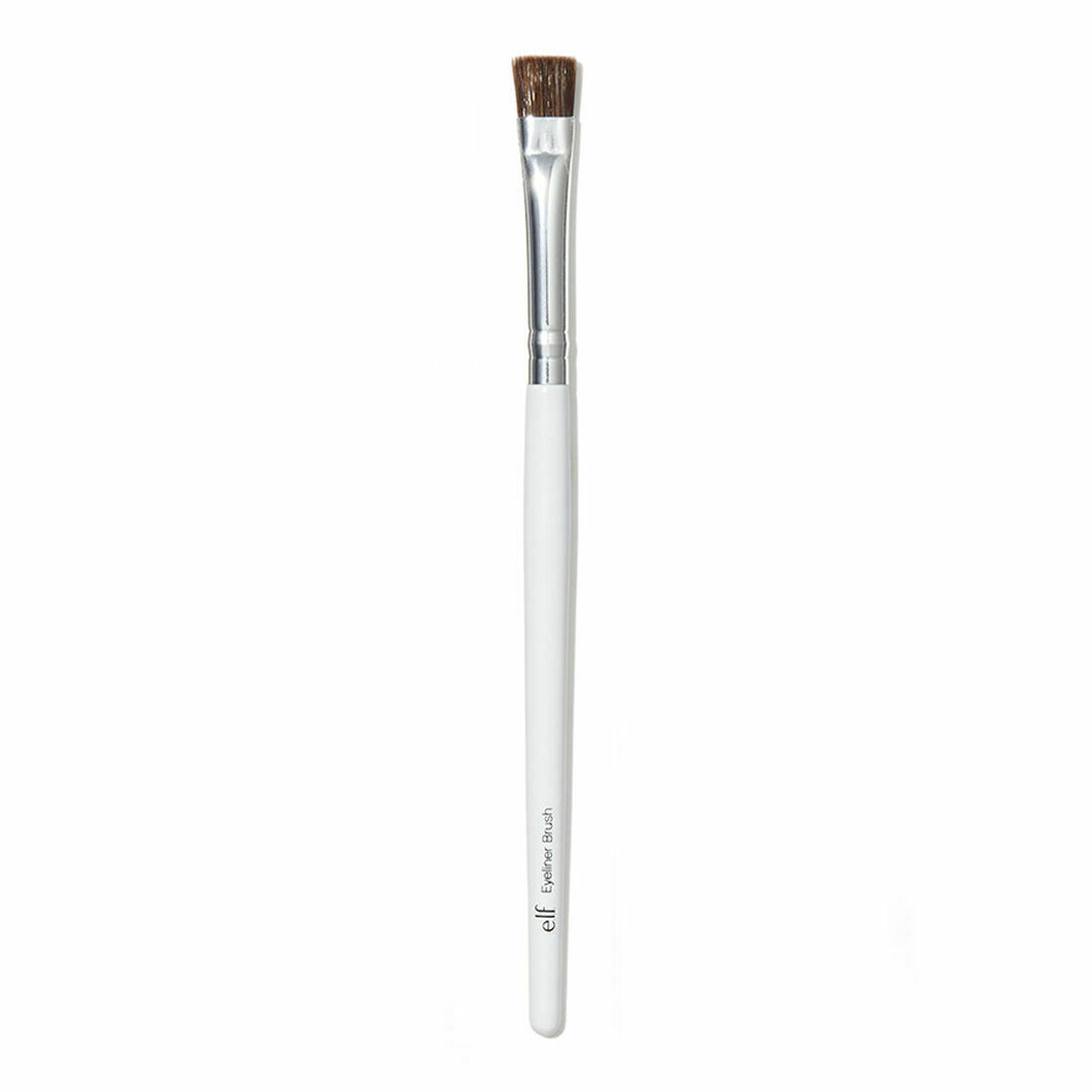 E.L.F Eyeliner Brush  This refined, gentle synthetic brush tip perfectly reaches inner and outer lash line for ultra thin and smooth application.