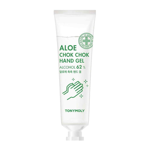 TonyMoly Aloe Chok Chok Hand Gel 30ml  A quick, easy and convenient hand gel that you can pop in your pocket or purse.