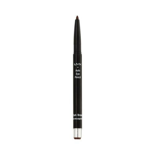 NYX Cosmetics Auto Eyeliner Pencils 0.22g - Dark Brown This auto eyeliner has a mechanical pencil action meaning you'll never need to sharpen   Easily draw a perfect line that lasts all day long without having to manhandle your eyelids