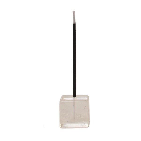 AROHA LOVE CLEAR QUARTZ INCENSE HOLDER | CUBE