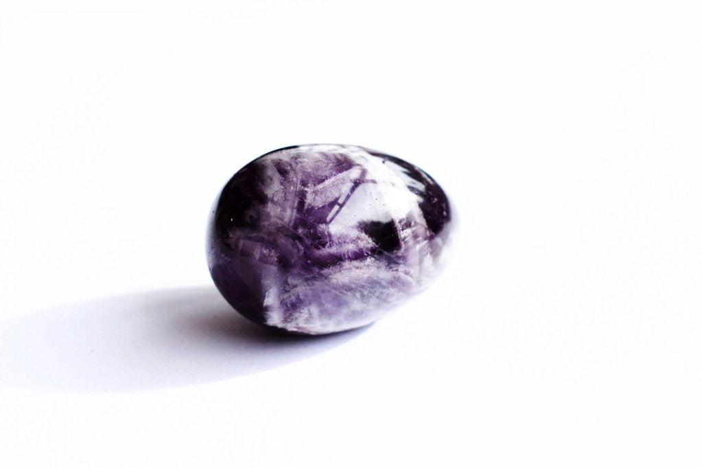 AMETHYST YONI EGGS - LARGE