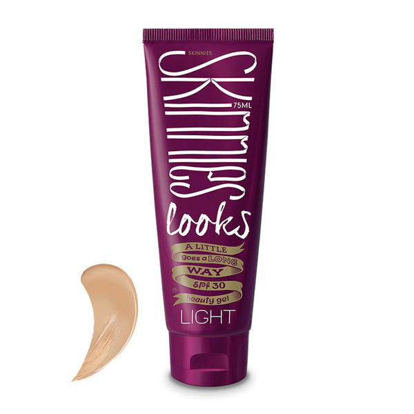 SKINNIES LOOKS SPF30 BEAUTY GEL ~ LIGHT