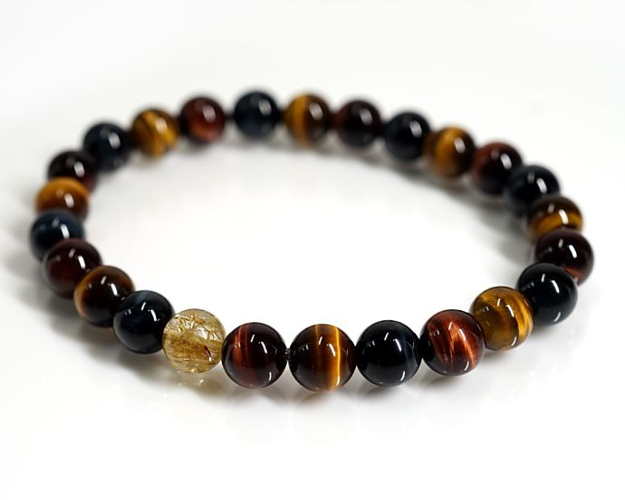 TIGER EYE MIX BRACELET