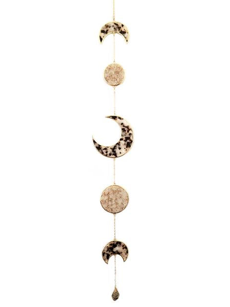 Resin Moon Phase Wall Hanging
