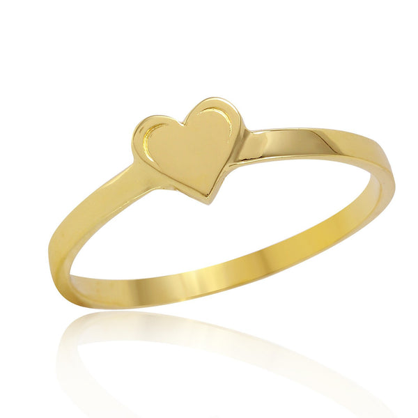 Heart O.G Stackable Ring-W H I T E T R A S H C H A R M S