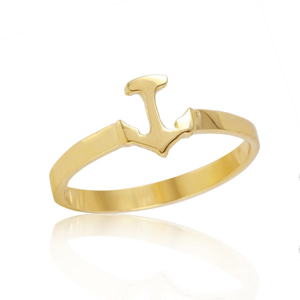 Anchor Stackable Ring W H I T E T R A S H C H A R M S