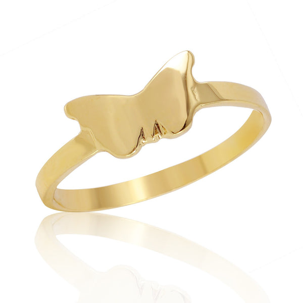 Butterfly Stackable Ring-W H I T E T R A S H C H A R M S
