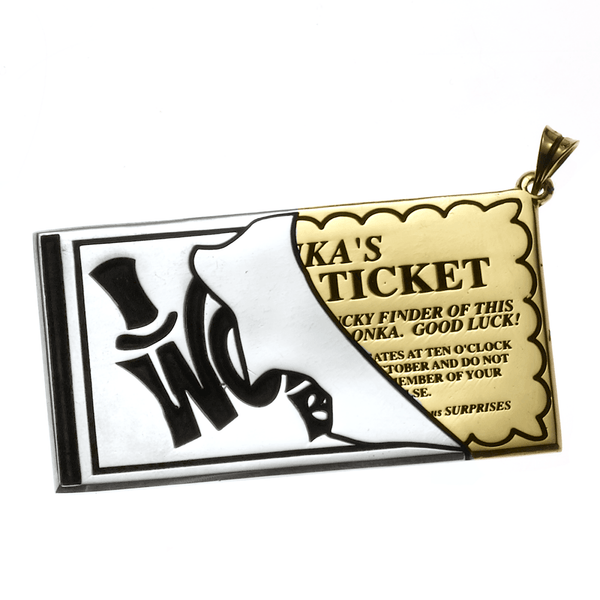 GOLDEN TICKET Pendant