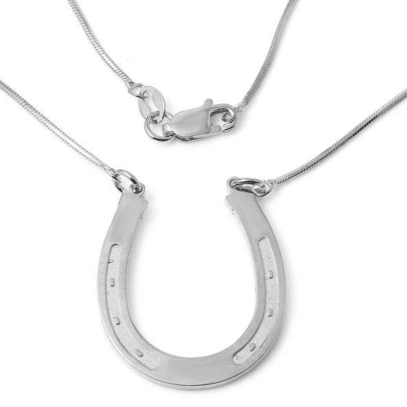 Horseshoe Sterling Silver   White Trash Charm s Style