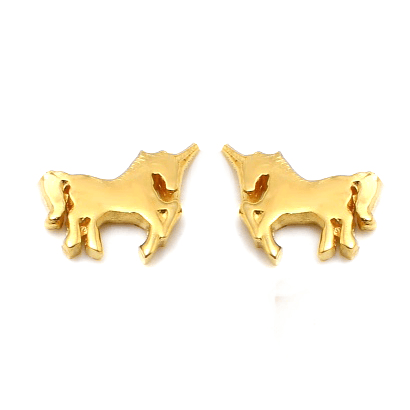 UNICORN Petite Stud Earrings W H I T E T R A S H C H A R M S