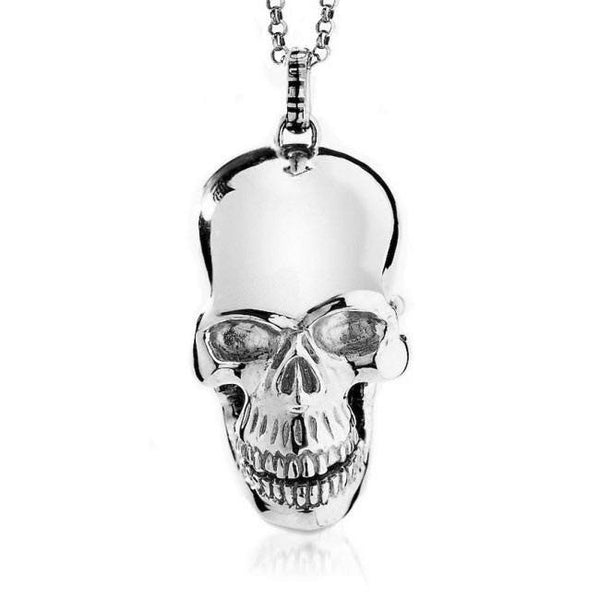 Skull Locket    White Trash Charm s Style