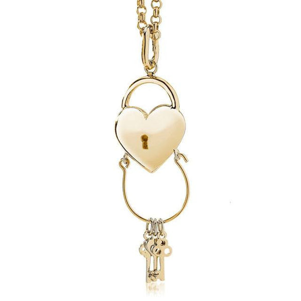 HEART Charm Catcher Pendant