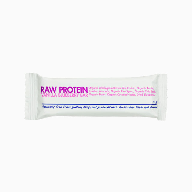 Vanilla Blueberry Raw Protein Bar