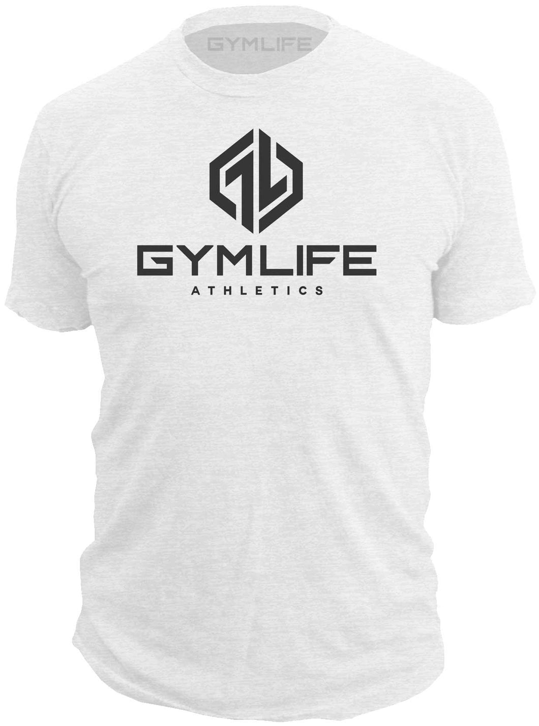 Gym Life® Mens - Venice - 52/48 Athletic T-Shirt - White