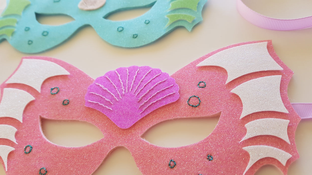DIY Craft Kit - Underwater Themed Mask Sewing Kit