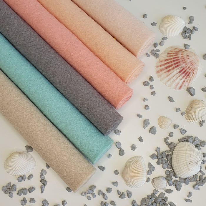 Ocean Treasures Wool Felt Bundle