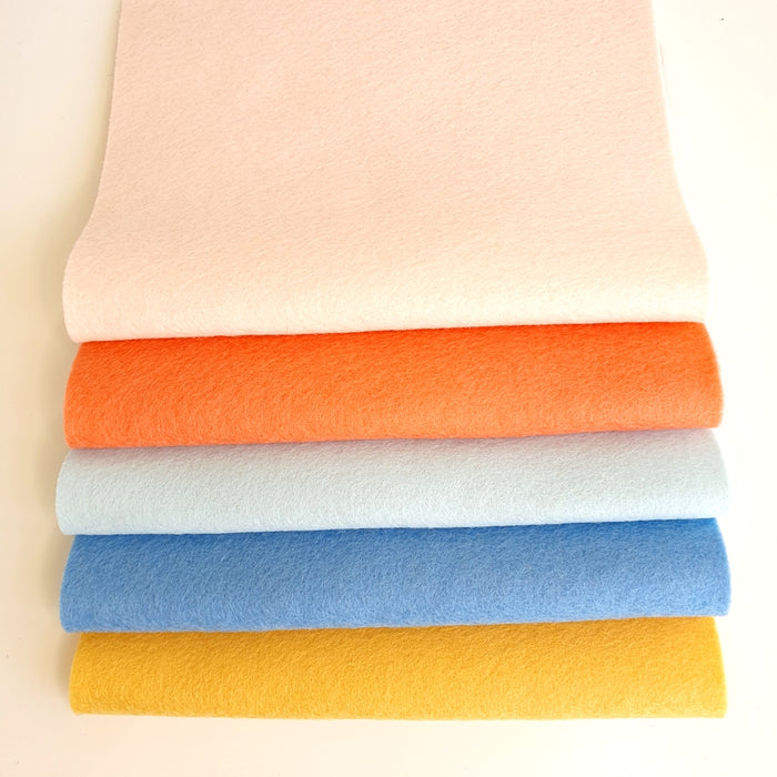 Summertime Wool Felt Bundle