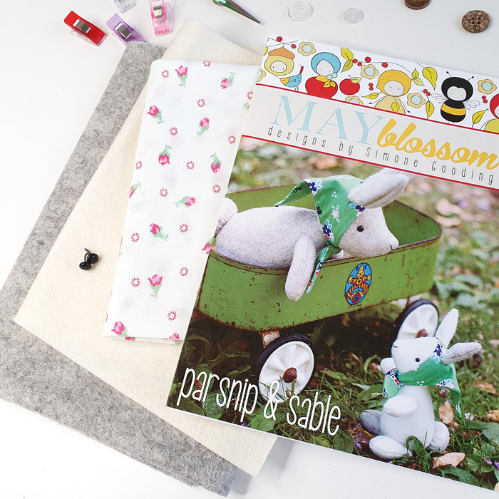 DIY Craft Kit - Mum and Baby Bunny Sewing Kit