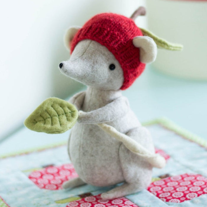 DIY Craft Kit - Shrew with Mini Quilt Soft Toy Sewing Kit