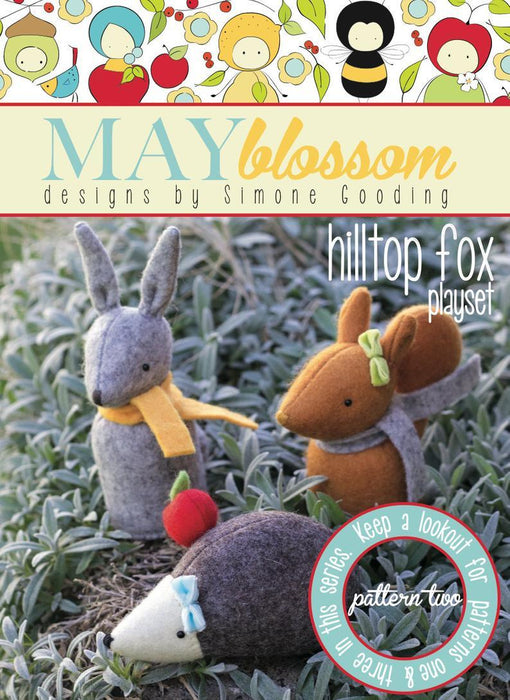May Blossom Designs Hilltop Fox Two Hard Copy Pattern
