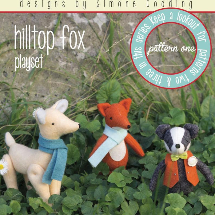 May Blossom Designs Hilltop Fox One Hard Copy Pattern