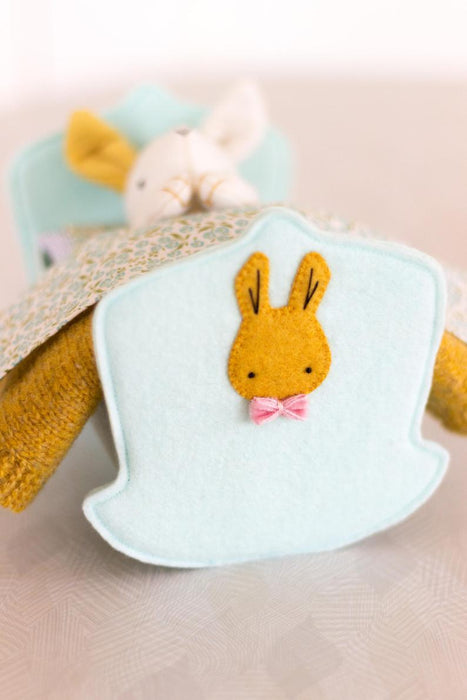 May Blossom Designs Rest Little Rabbit Hard Copy Pattern