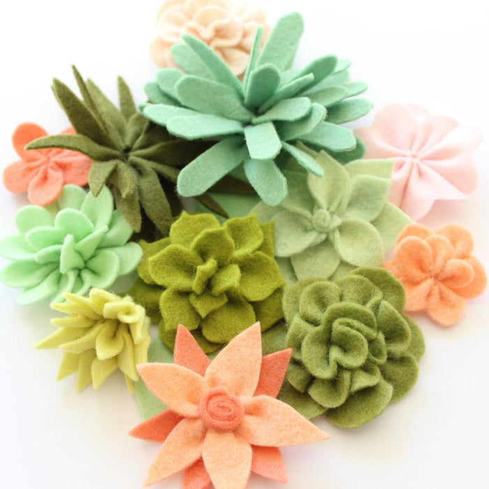 Molly & Mama Coco Flower Crown Hard Copy Pattern