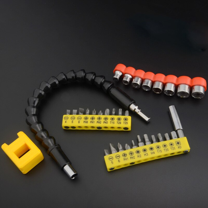 Electronic Drill Black Flexible Shaft Bits