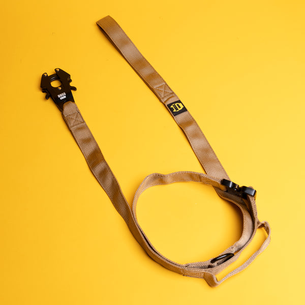 Quick Release Tactical Leash - Tan