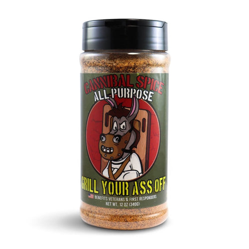 Grill Your Ass Off Cannibal All Purpose Spice