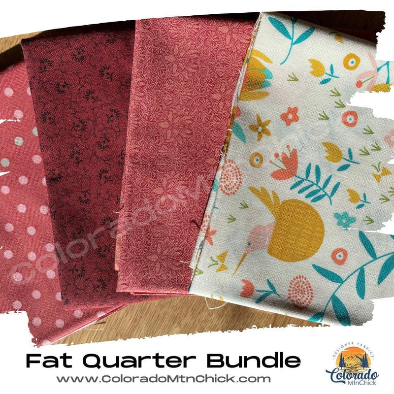 4 Piece Curated Fat Quarter Bundles - Moda Fabrics