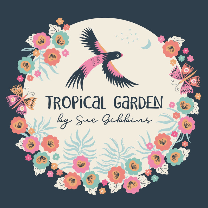 Tropical Garden Parrot Play by Sue Gibbins