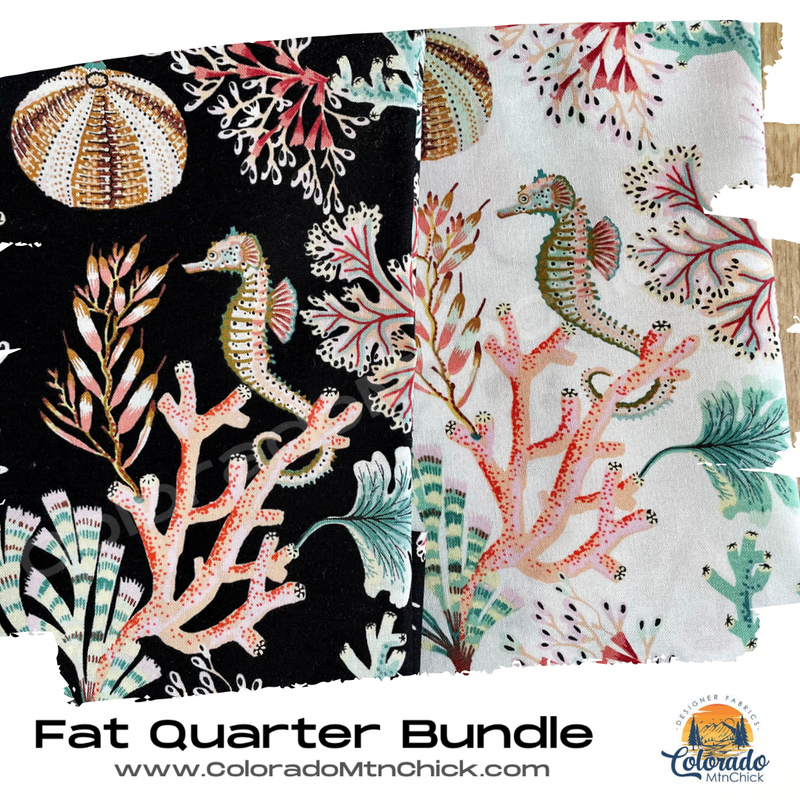 Sea Botanica 2 Piece Fat Quarter Bundle